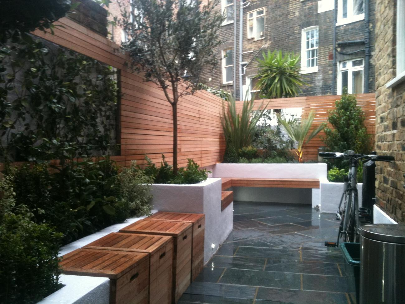 Courtyards And Roof Gardens Landscaper In Central London And